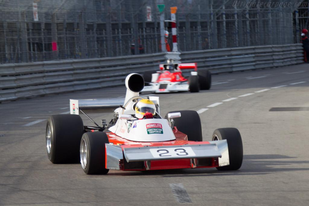 Trojan T103 Cosworth - Chassis: T103/1 - Driver: Philippe Bonny  - 2014 Monaco Historic Grand Prix