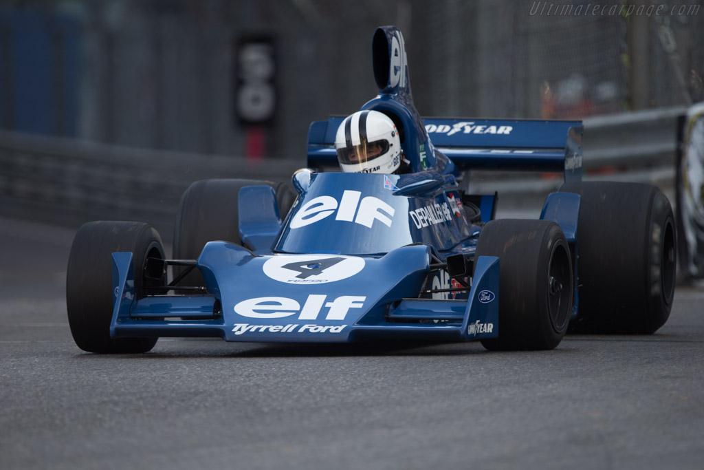 Tyrrell 007 Cosworth - Chassis: 007/4 - Driver: Roald Goethe  - 2014 Monaco Historic Grand Prix
