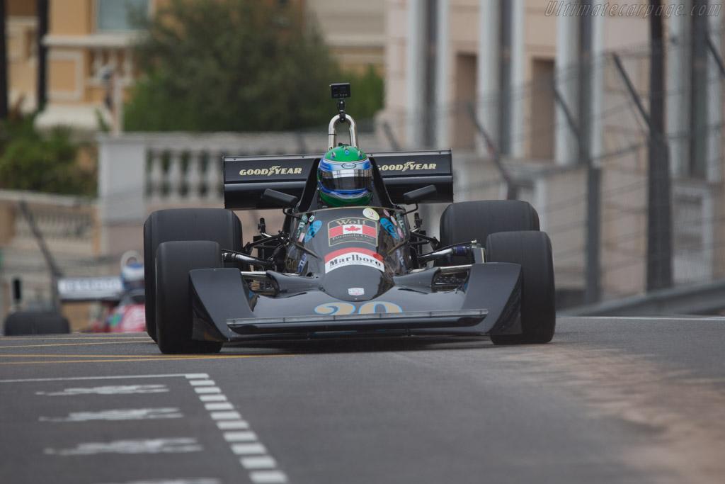 Williams FW05 Cosworth - Chassis: FW05/3 - Driver: Nick Padmore  - 2014 Monaco Historic Grand Prix