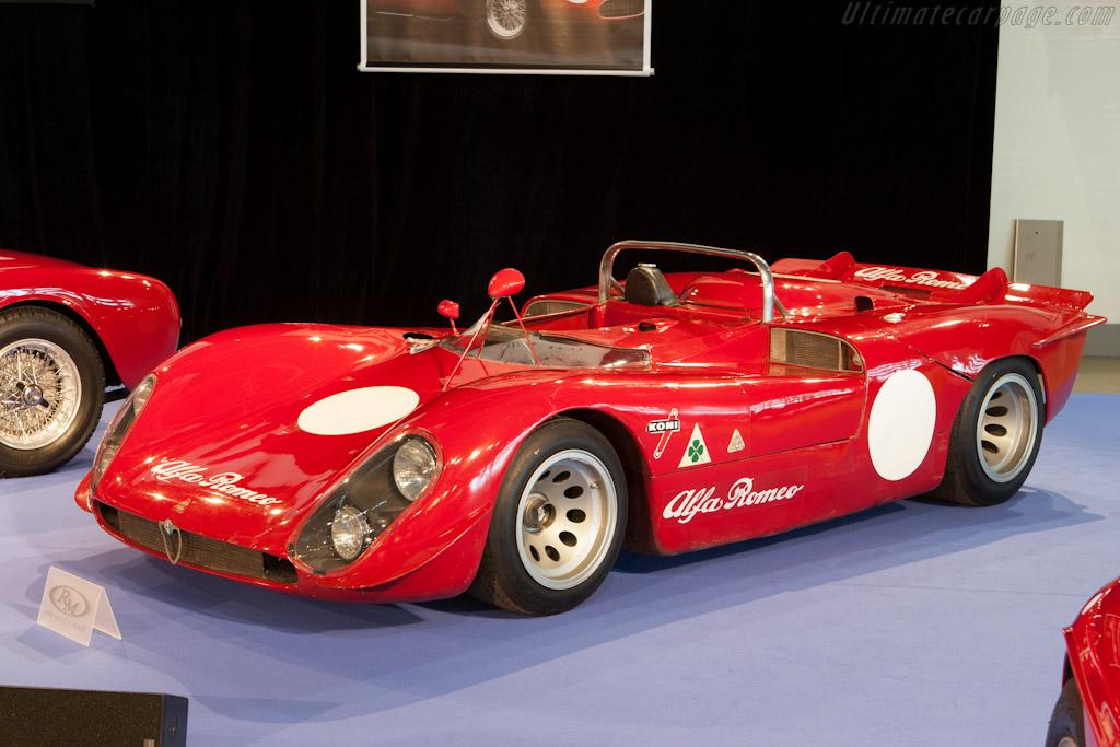 Alfa Romeo Tipo 33/3 - 2012 Monaco Historic Grand Prix