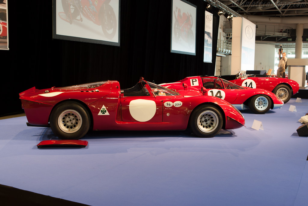 Alfa Romeo Tipo 33/2 Daytona - Chassis: 75033.029   - 2012 Monaco Historic Grand Prix