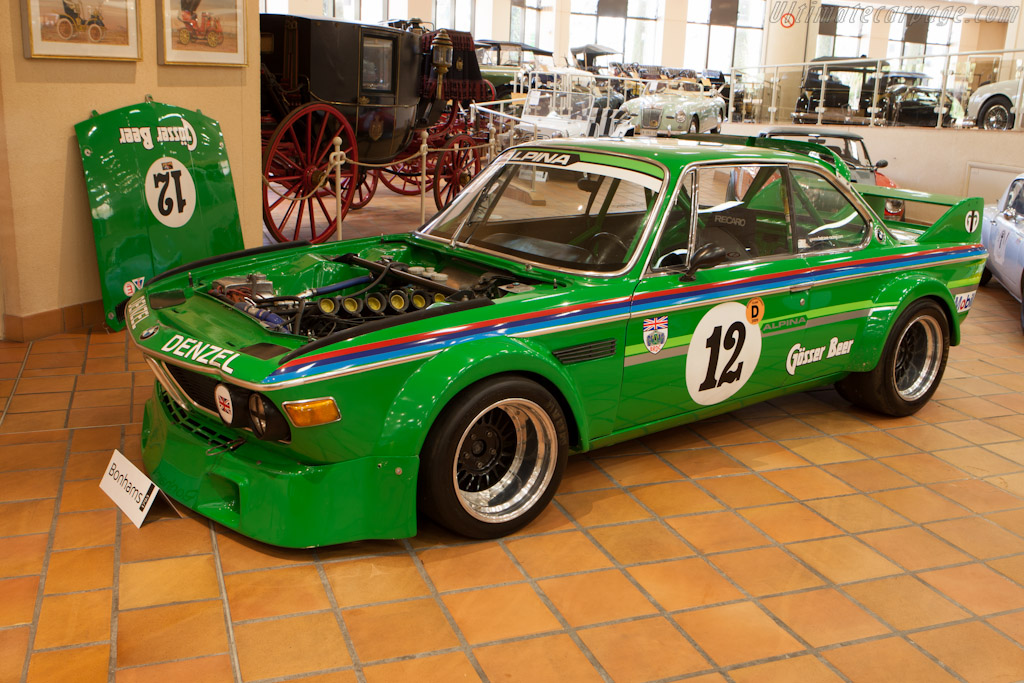 BMW 3.0 CSL    - 2012 Monaco Historic Grand Prix