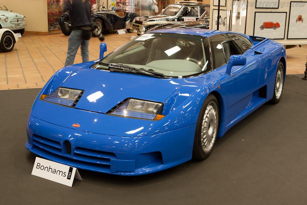 Bugatti EB110 GT    - 2012 Monaco Historic Grand Prix