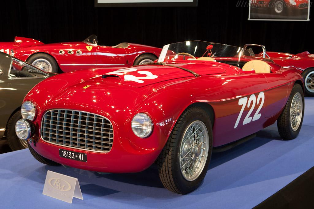 Ferrari 166 SC Fontana Spyder - Chassis: 012I   - 2012 Monaco Historic Grand Prix