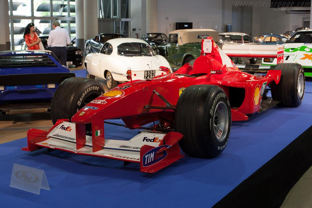 Ferrari F1-2000 - Chassis: 204   - 2012 Monaco Historic Grand Prix