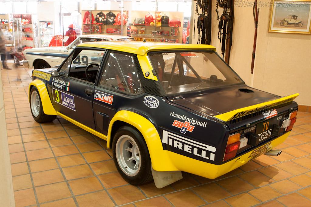 Fiat 131 Abarth   - 2012 Monaco Historic Grand Prix