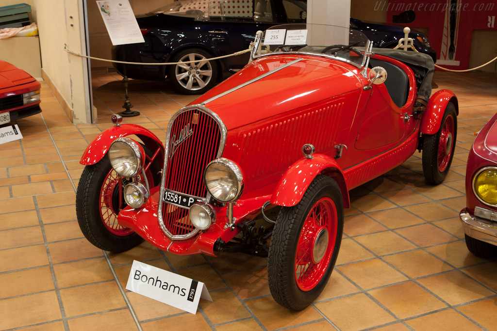 Fiat 508 Balilla    - 2012 Monaco Historic Grand Prix