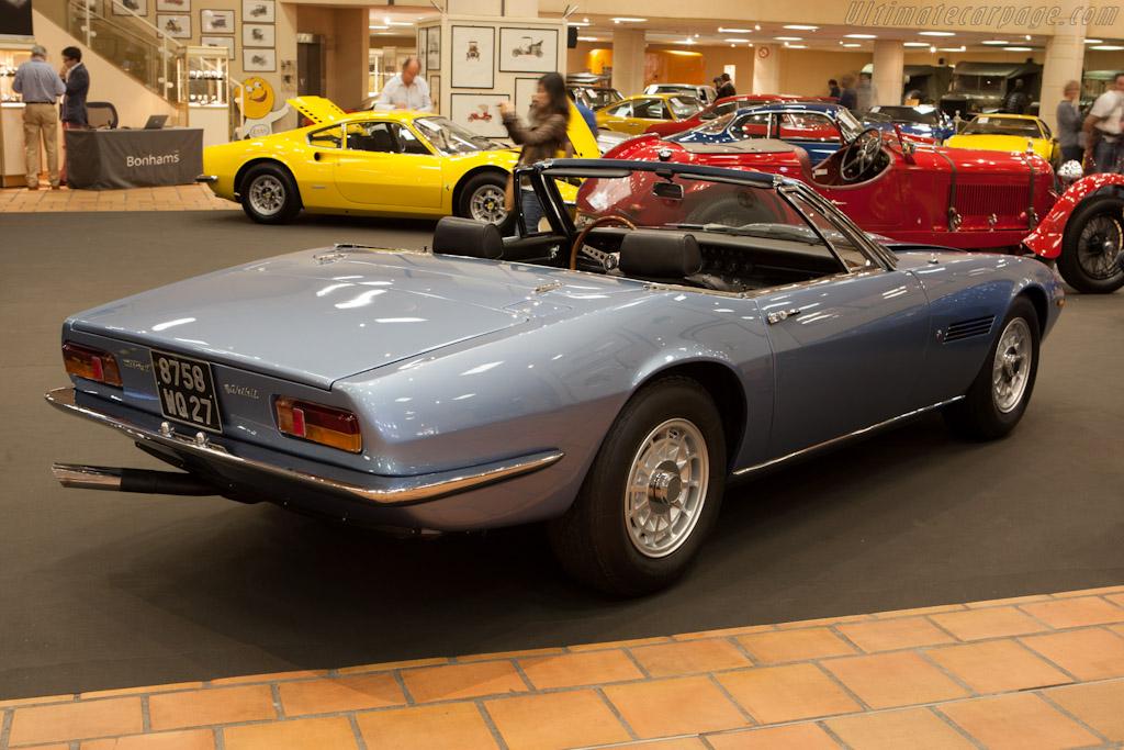 Maserati Ghibli    - 2012 Monaco Historic Grand Prix