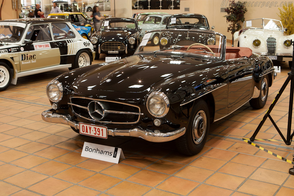 mercedes benz 190 sl 2012 monaco historic grand prix. Black Bedroom Furniture Sets. Home Design Ideas
