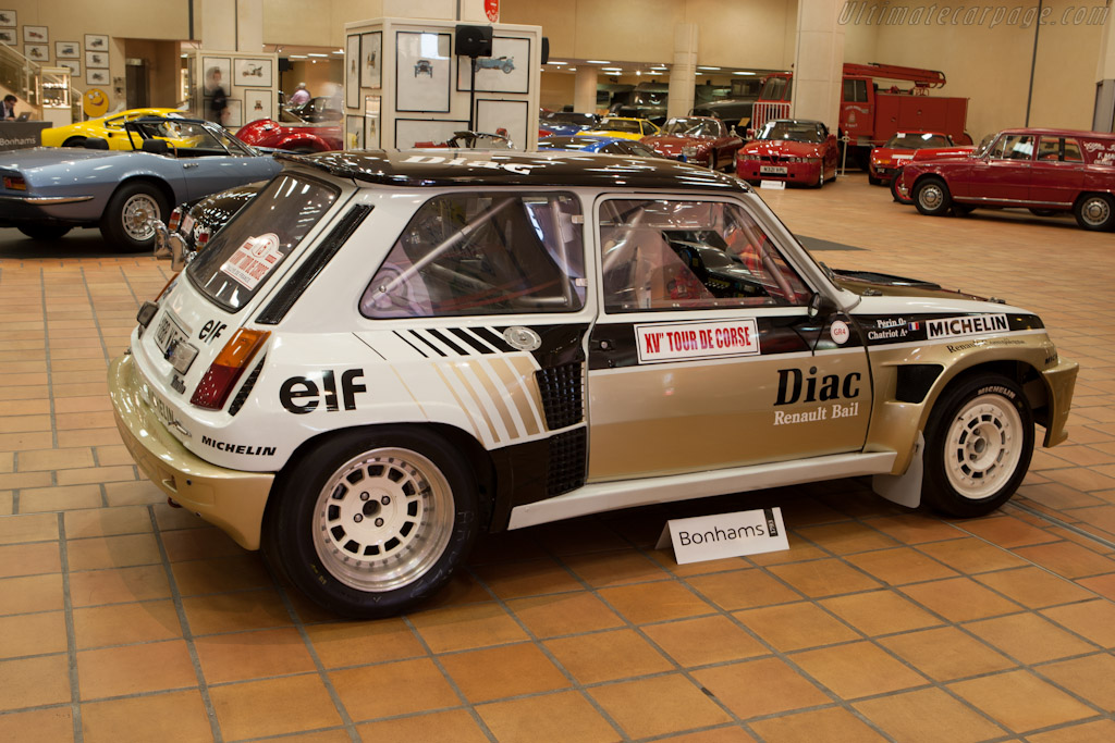 Renault 5 Alpine    - 2012 Monaco Historic Grand Prix