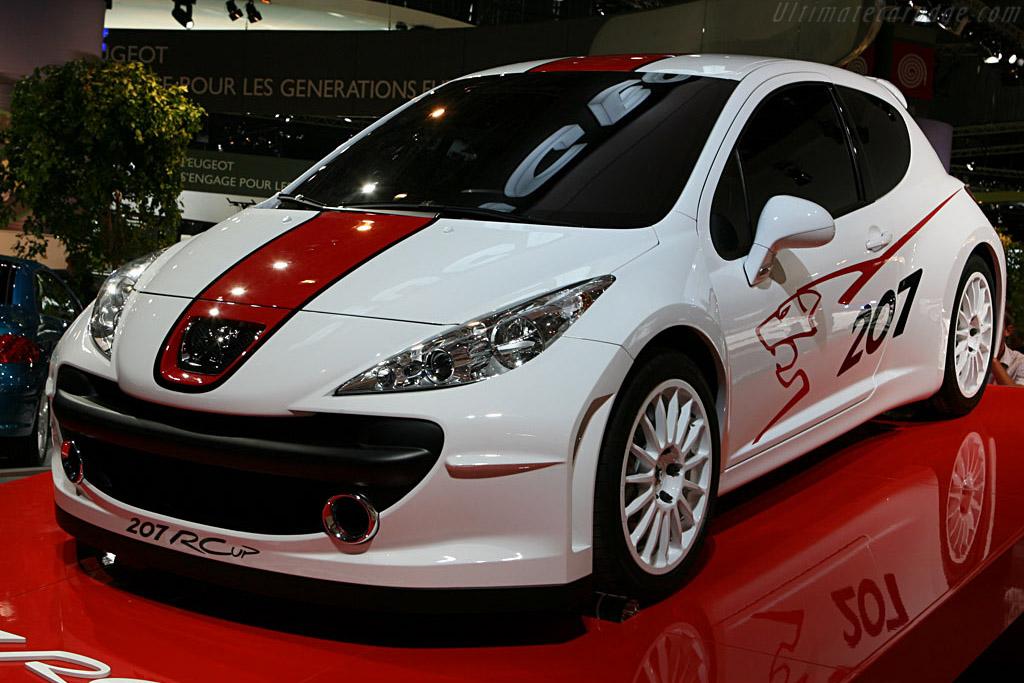 Peugeot 207 Rc Cup 2006 Mondial De L Automobile Paris