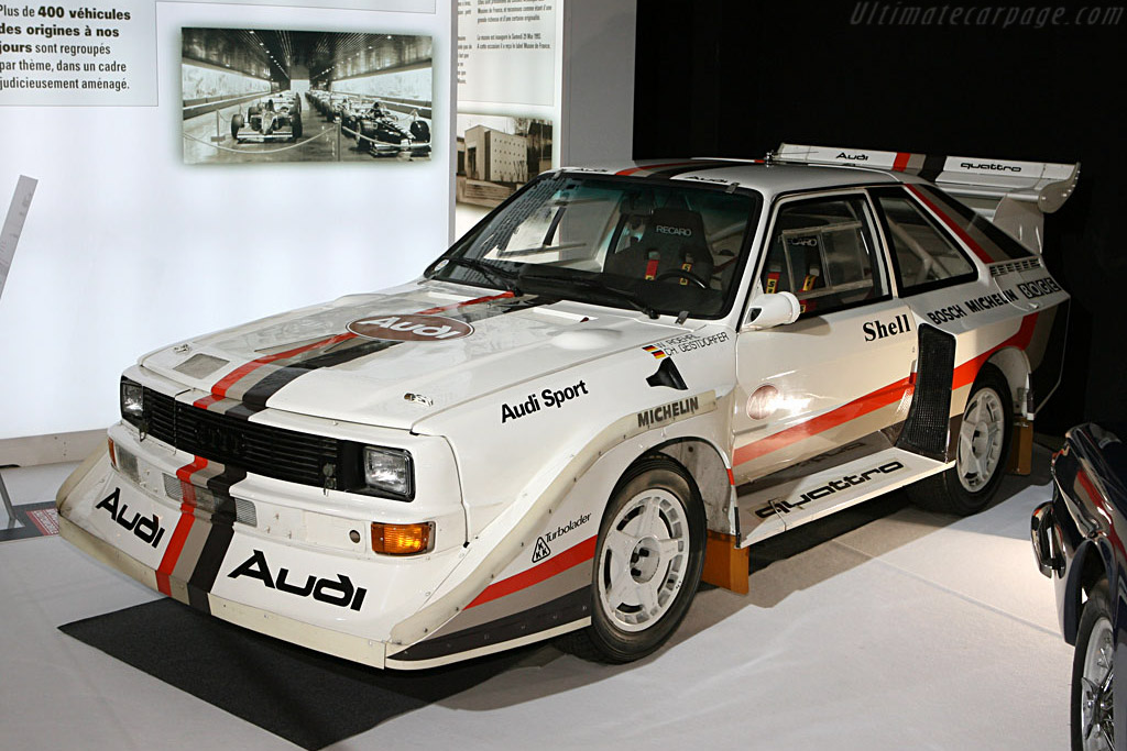 Audi Quattro Group B - Chassis: 85ZGA905016   - 2006 Mondial de l'Automobile Paris
