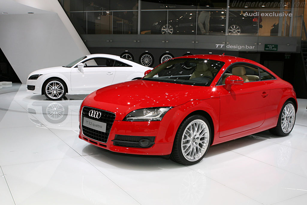 Audi Tt 2006 Mondial De L Automobile Paris