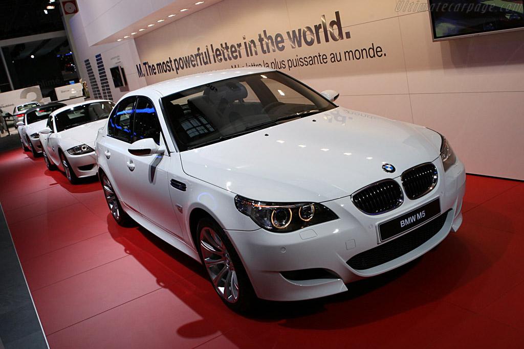 BMW M5    - 2006 Mondial de l'Automobile Paris