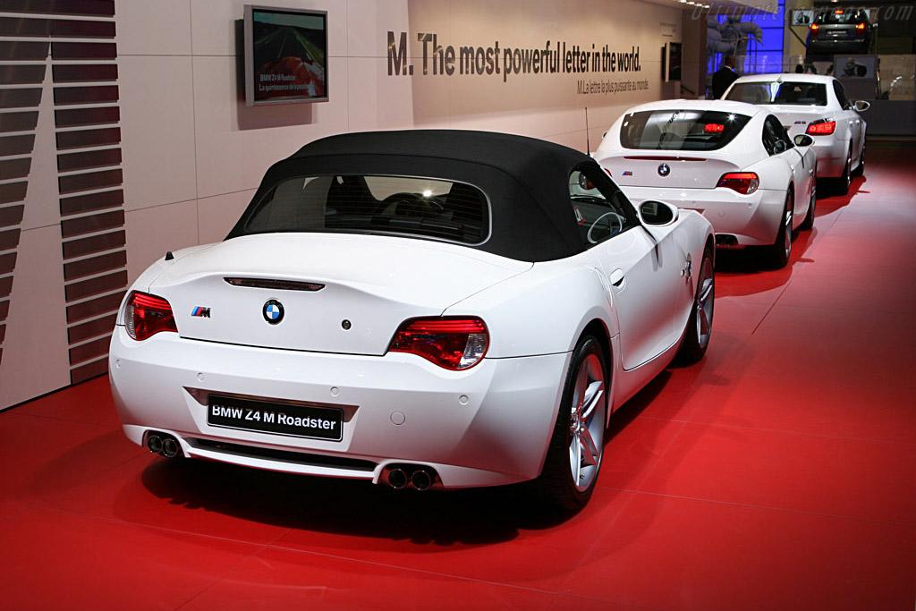 BMW Z4 M Roadster    - 2006 Mondial de l'Automobile Paris