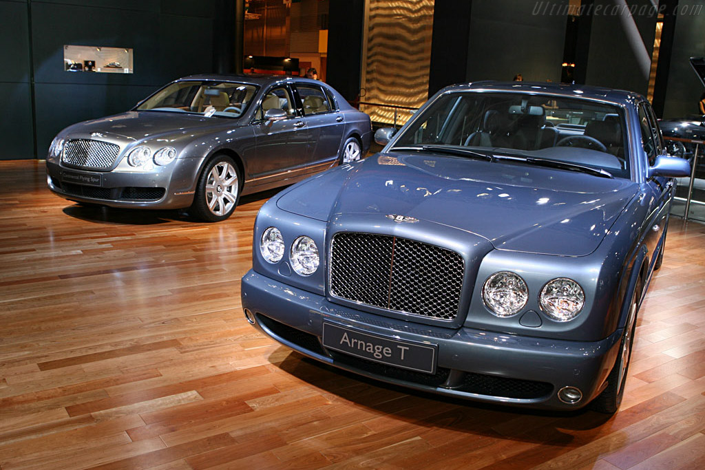 Bentley Arnage T    - 2006 Mondial de l'Automobile Paris