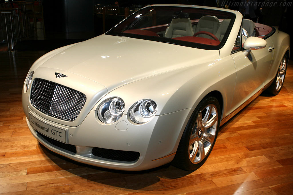 Bentley Continental GTC    - 2006 Mondial de l'Automobile Paris