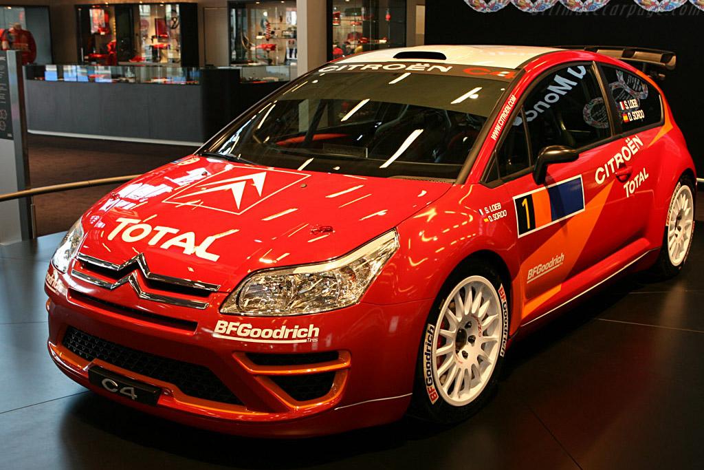 Citroën C4 WRC    - 2006 Mondial de l'Automobile Paris