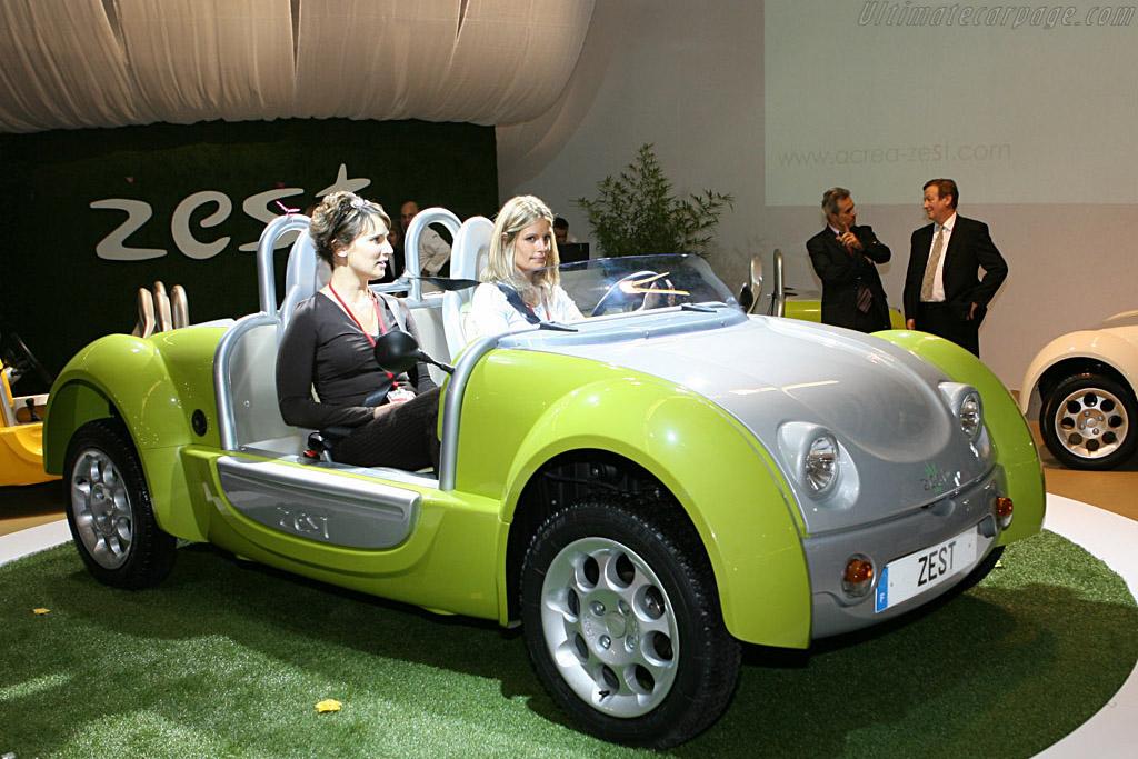 Etud Zest Concept    - 2006 Mondial de l'Automobile Paris