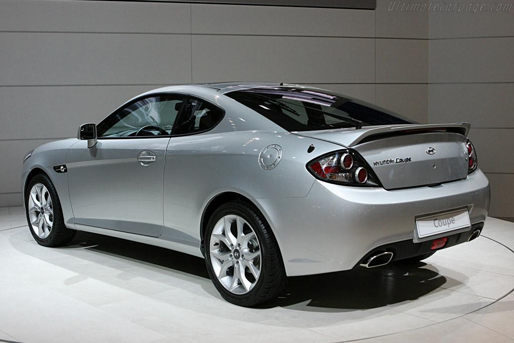 Hyundai Coupe    - 2006 Mondial de l'Automobile Paris