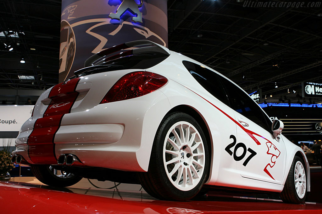 Peugeot 207 RC Cup    - 2006 Mondial de l'Automobile Paris