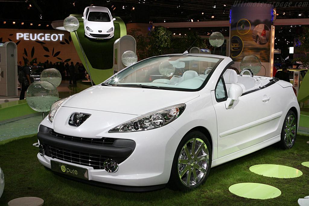 Peugeot 307 Epure Concept    - 2006 Mondial de l'Automobile Paris