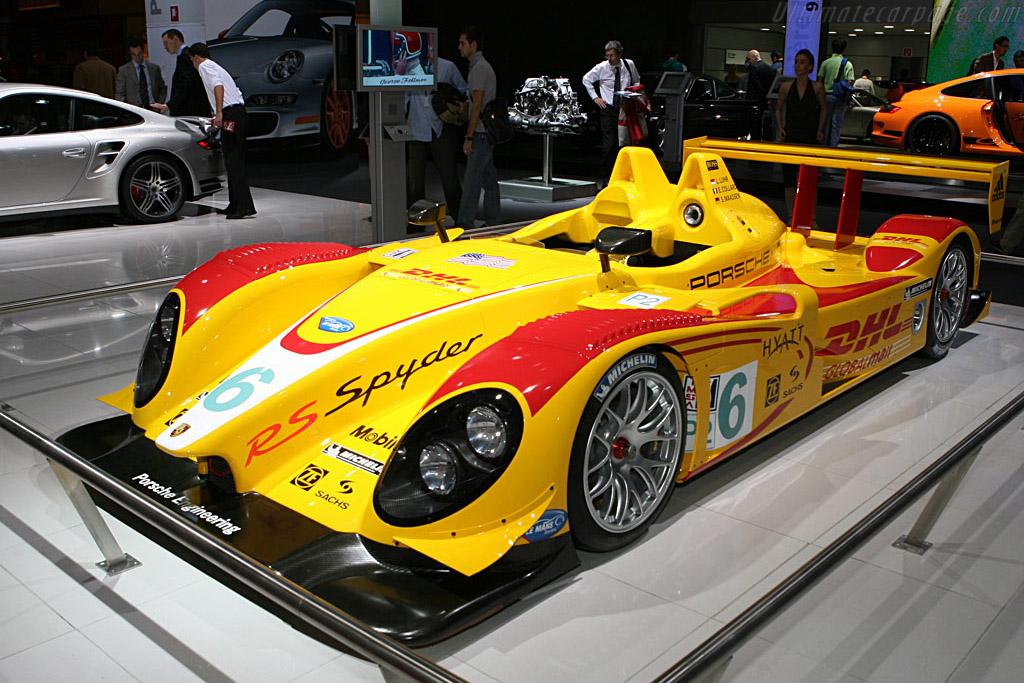 Porsche Rs Spyder 2006 Mondial De L Automobile Paris