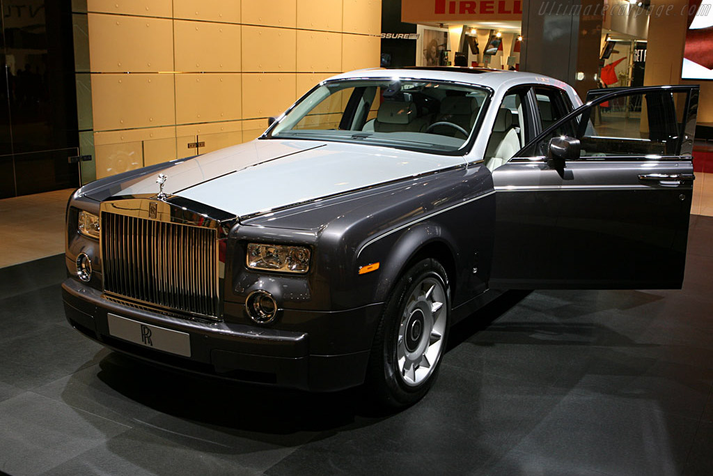 Rolls-Royce Phantom    - 2006 Mondial de l'Automobile Paris