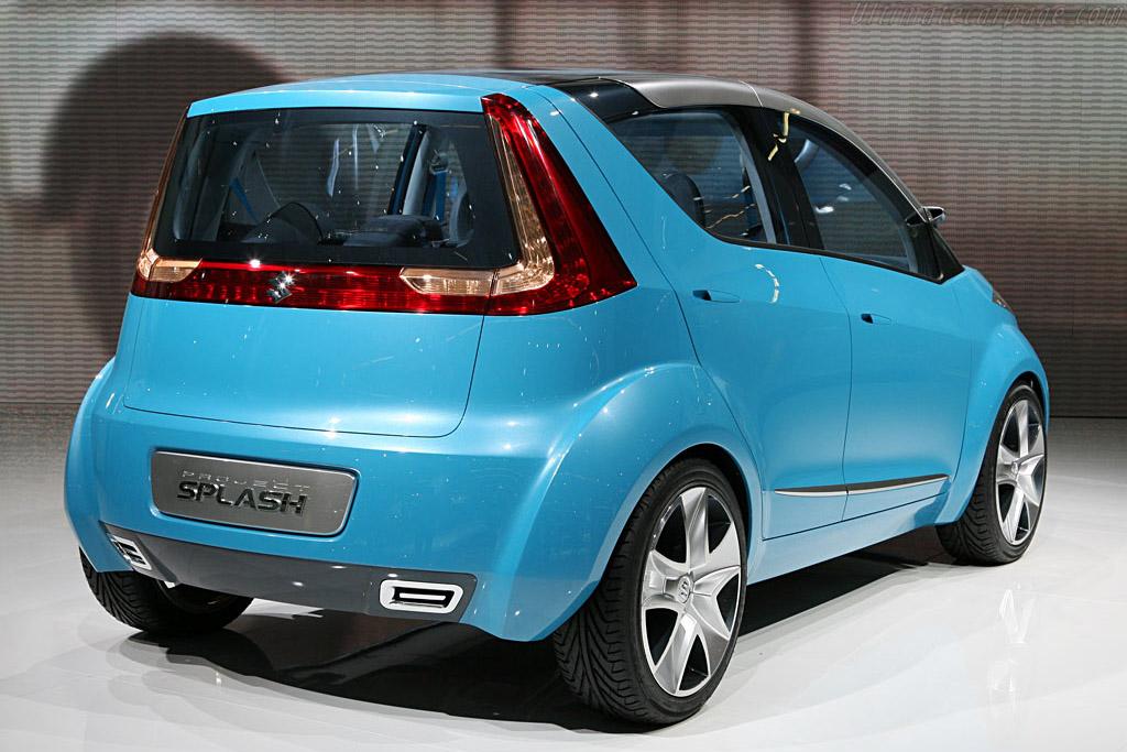 Suzuki Splash Concept    - 2006 Mondial de l'Automobile Paris