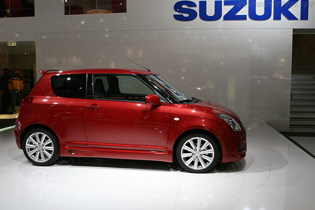 Suzuki Swift Sport    - 2006 Mondial de l'Automobile Paris