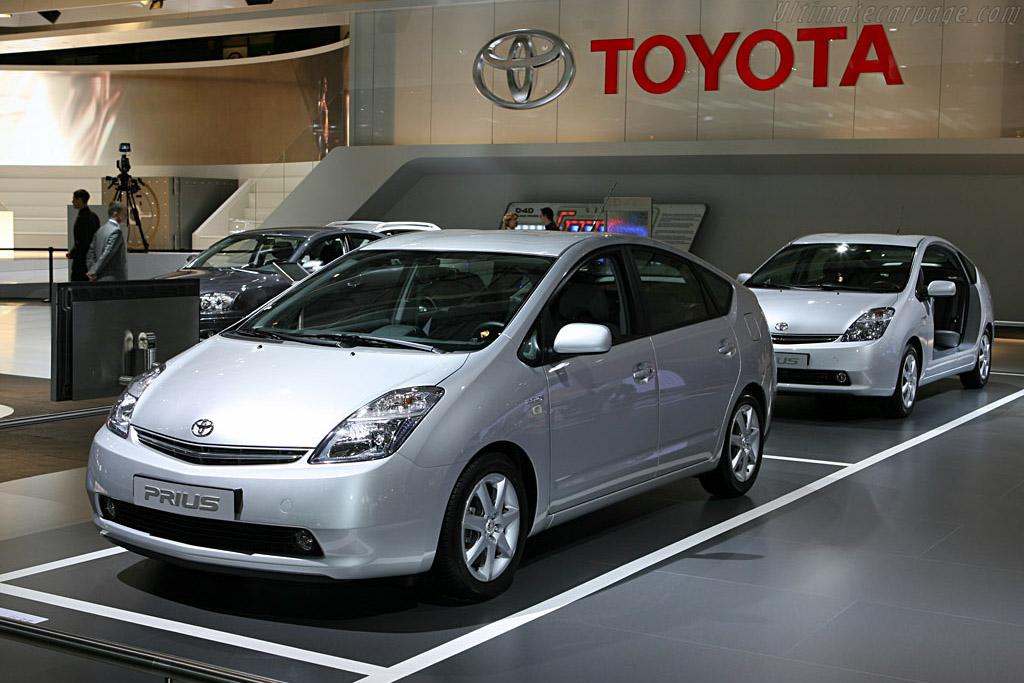 Toyota Prius    - 2006 Mondial de l'Automobile Paris