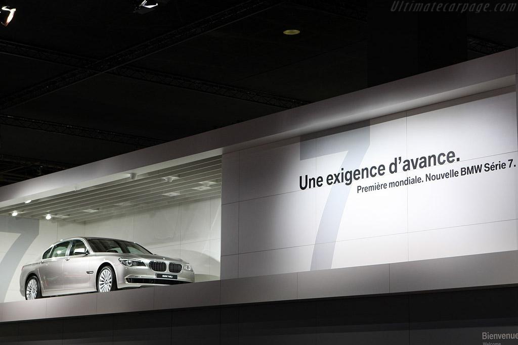 BMW 7-Series    - 2008 Mondial de l'Automobile Paris