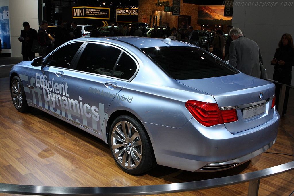 BMW 7-Series Active Hybrid Concept    - 2008 Mondial de l'Automobile Paris