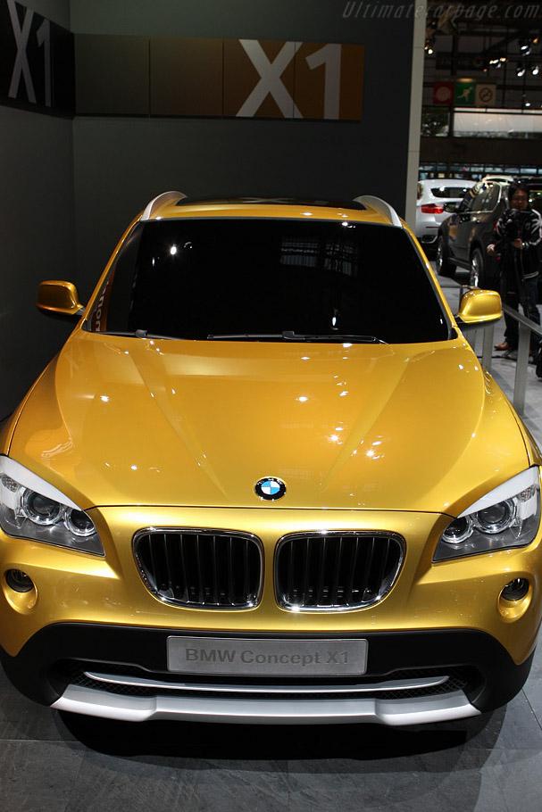 BMW X1 Concept    - 2008 Mondial de l'Automobile Paris