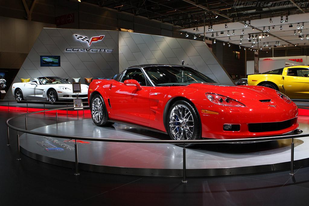Chevrolet Corvettes    - 2008 Mondial de l'Automobile Paris