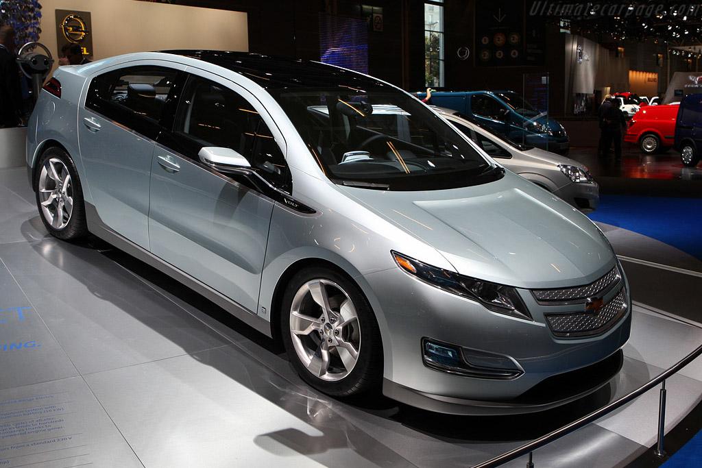Chevrolet Volt    - 2008 Mondial de l'Automobile Paris