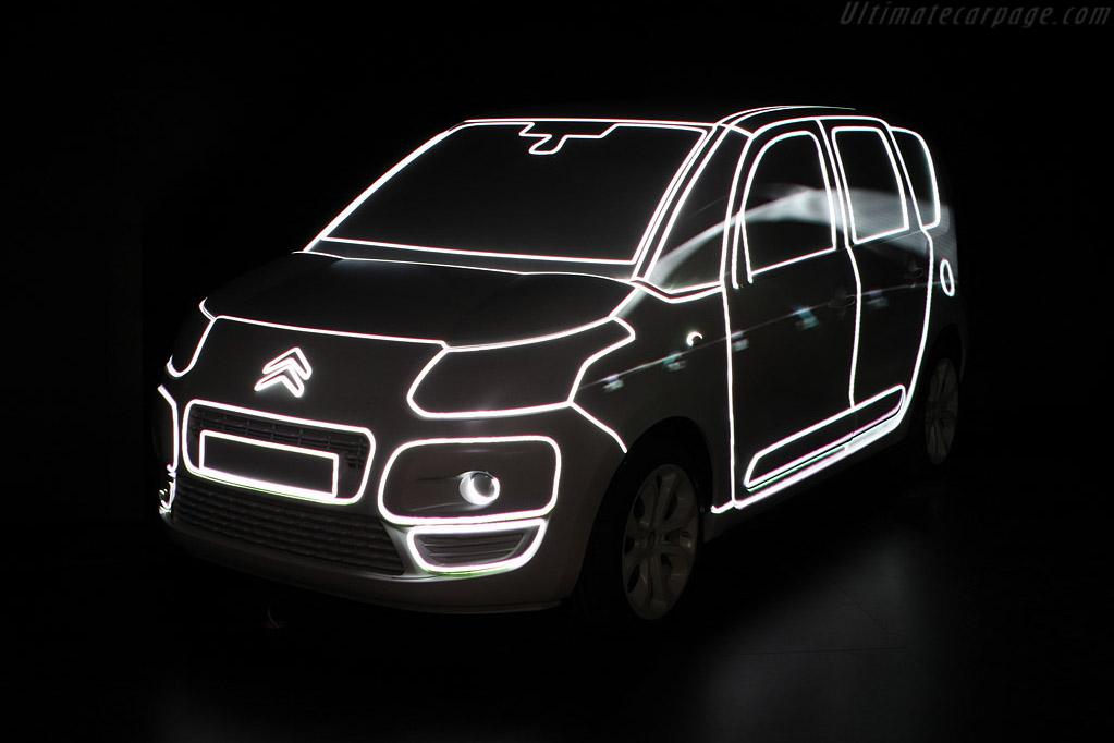 Citroën C3 Picasso    - 2008 Mondial de l'Automobile Paris