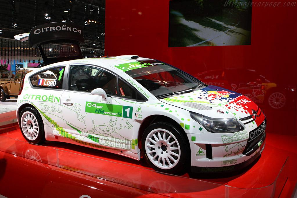 Citroën C4 WRC HYmotion4    - 2008 Mondial de l'Automobile Paris