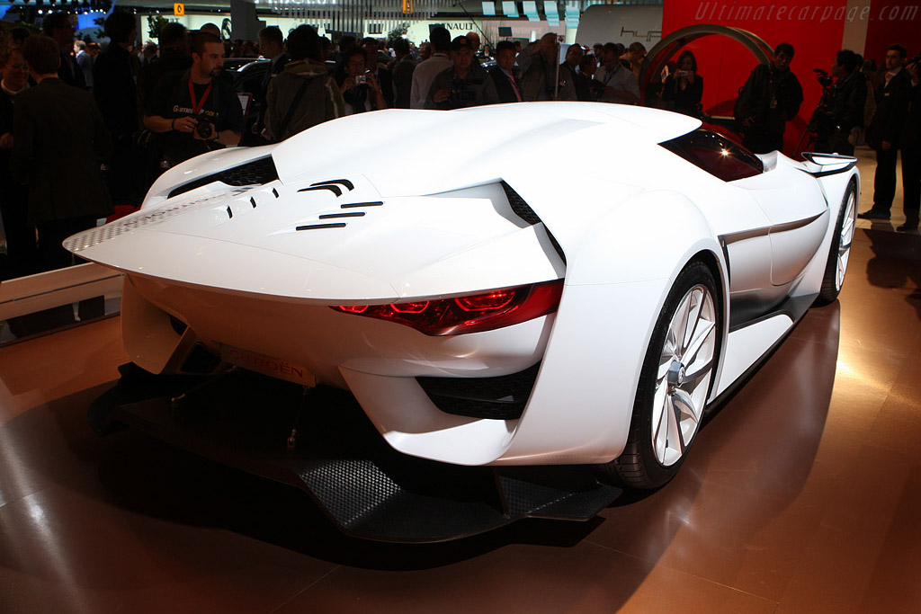 Citroën GT Concept    - 2008 Mondial de l'Automobile Paris