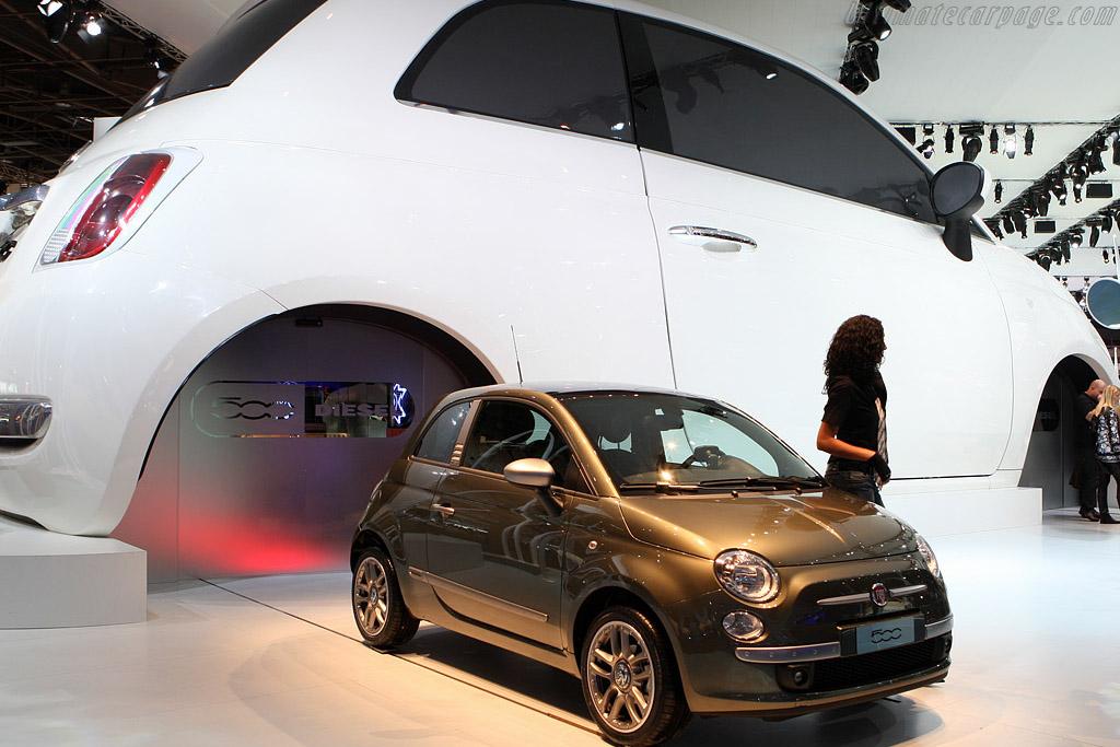 Fiat 500 Diesel    - 2008 Mondial de l'Automobile Paris