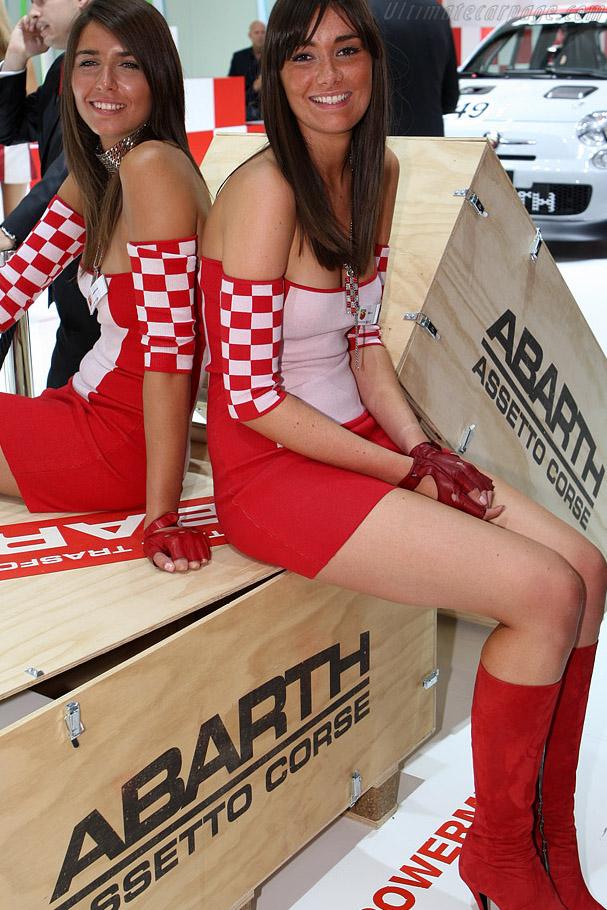 Fiat Abarth    - 2008 Mondial de l'Automobile Paris