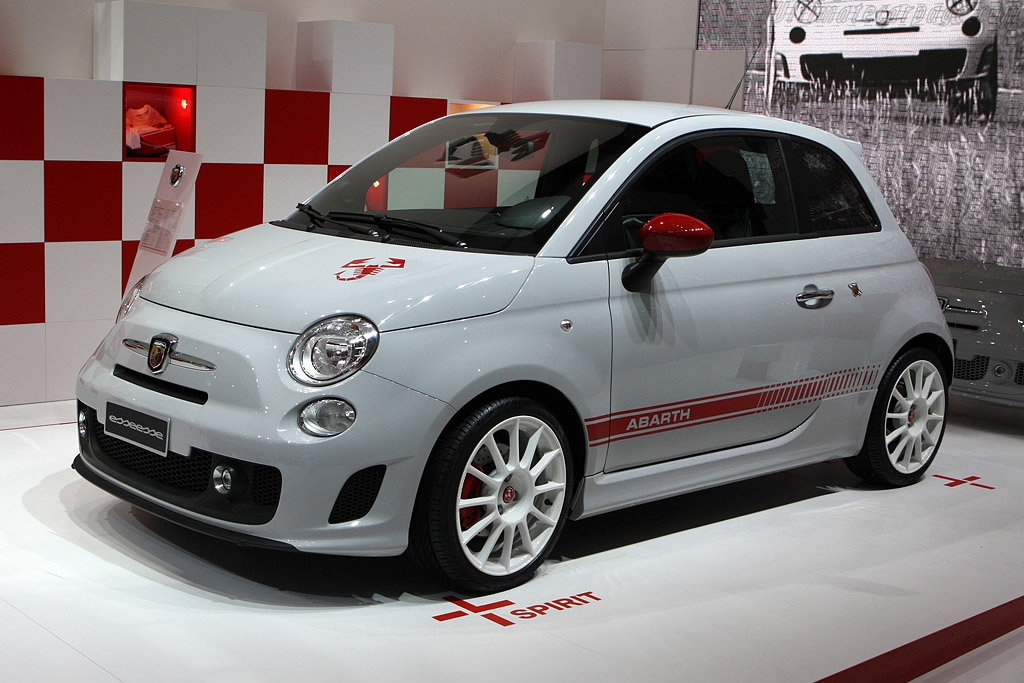 Fiat Abarth 500 esseesse    - 2008 Mondial de l'Automobile Paris