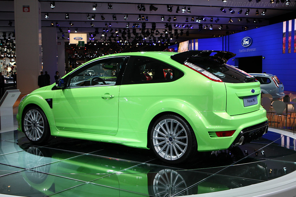 2017 Ford Focus >> Ford Focus RS - 2008 Mondial de l'Automobile Paris