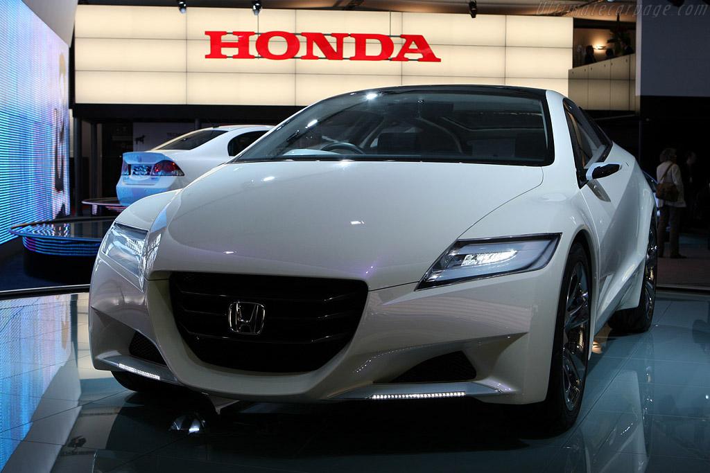 Honda CR-Z Concept    - 2008 Mondial de l'Automobile Paris