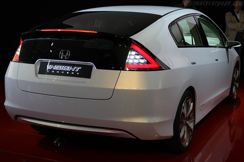 Honda Insight Concept    - 2008 Mondial de l'Automobile Paris