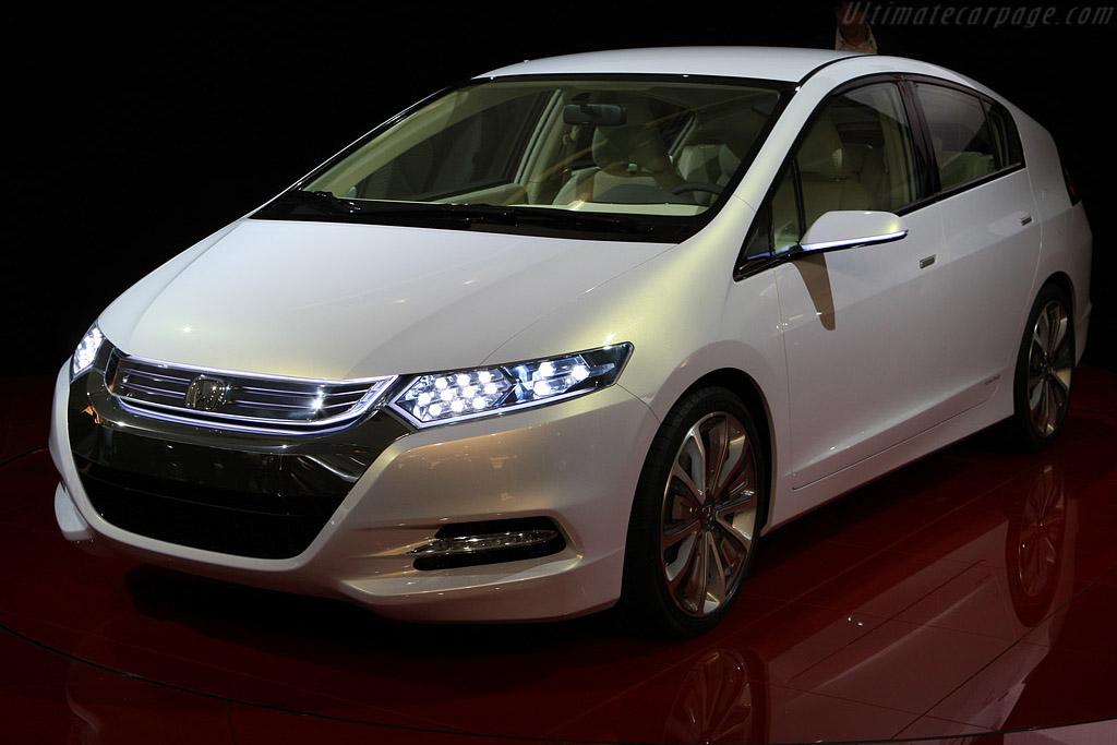 Honda Insight Concept    - 2008 Mondial de l'Automobile Paris