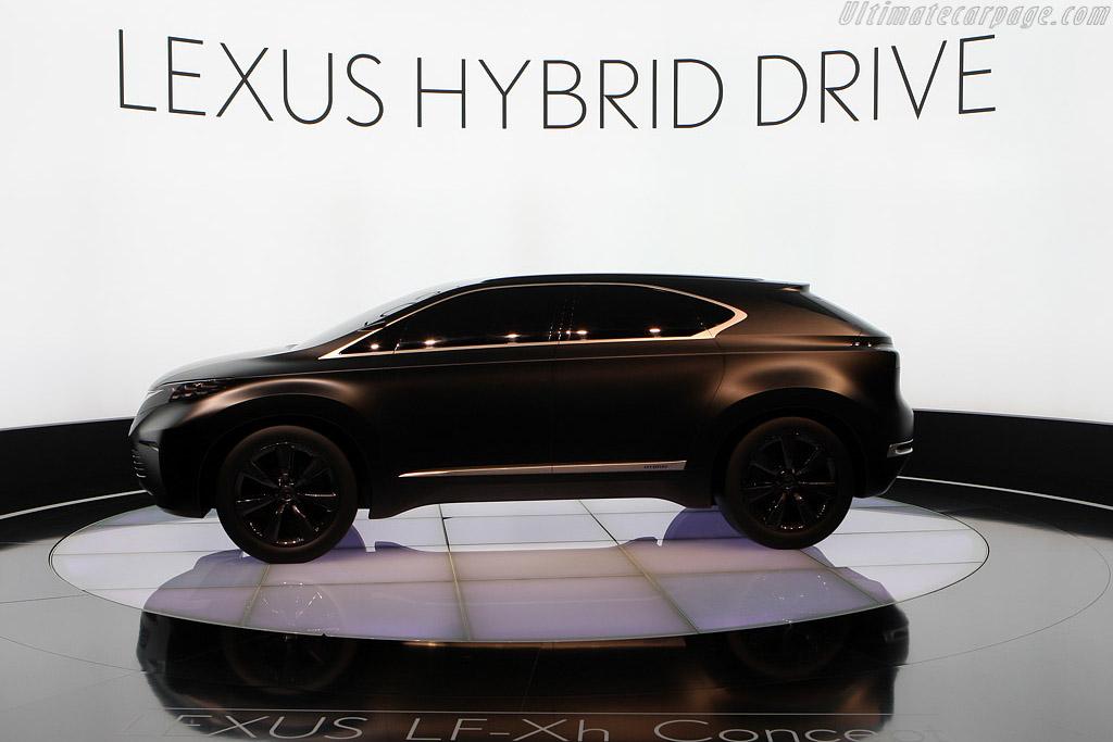 Lexus LF-XH Hybrid Drive    - 2008 Mondial de l'Automobile Paris