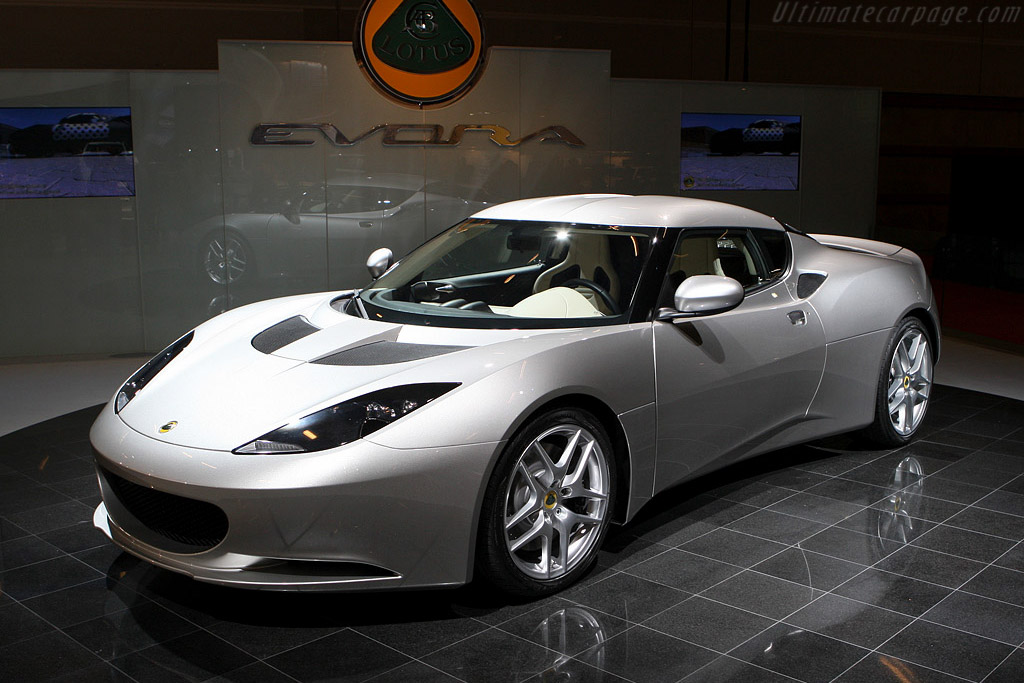 Lotus Evora    - 2008 Mondial de l'Automobile Paris