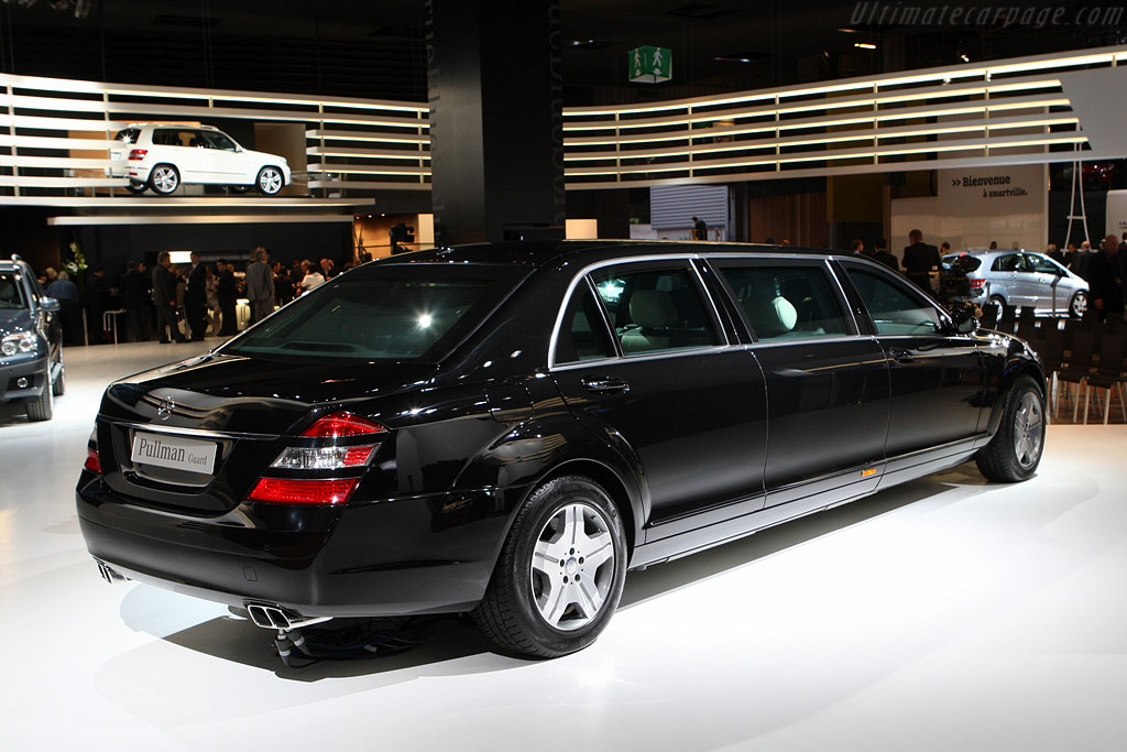 Mercedes Benz S600 Pullman Guard    - 2008 Mondial de l'Automobile Paris