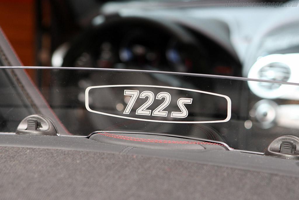 Mercedes Benz SLR McLaren 722 Roadster S    - 2008 Mondial de l'Automobile Paris